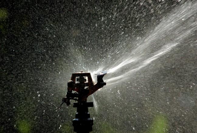 sprinkler head