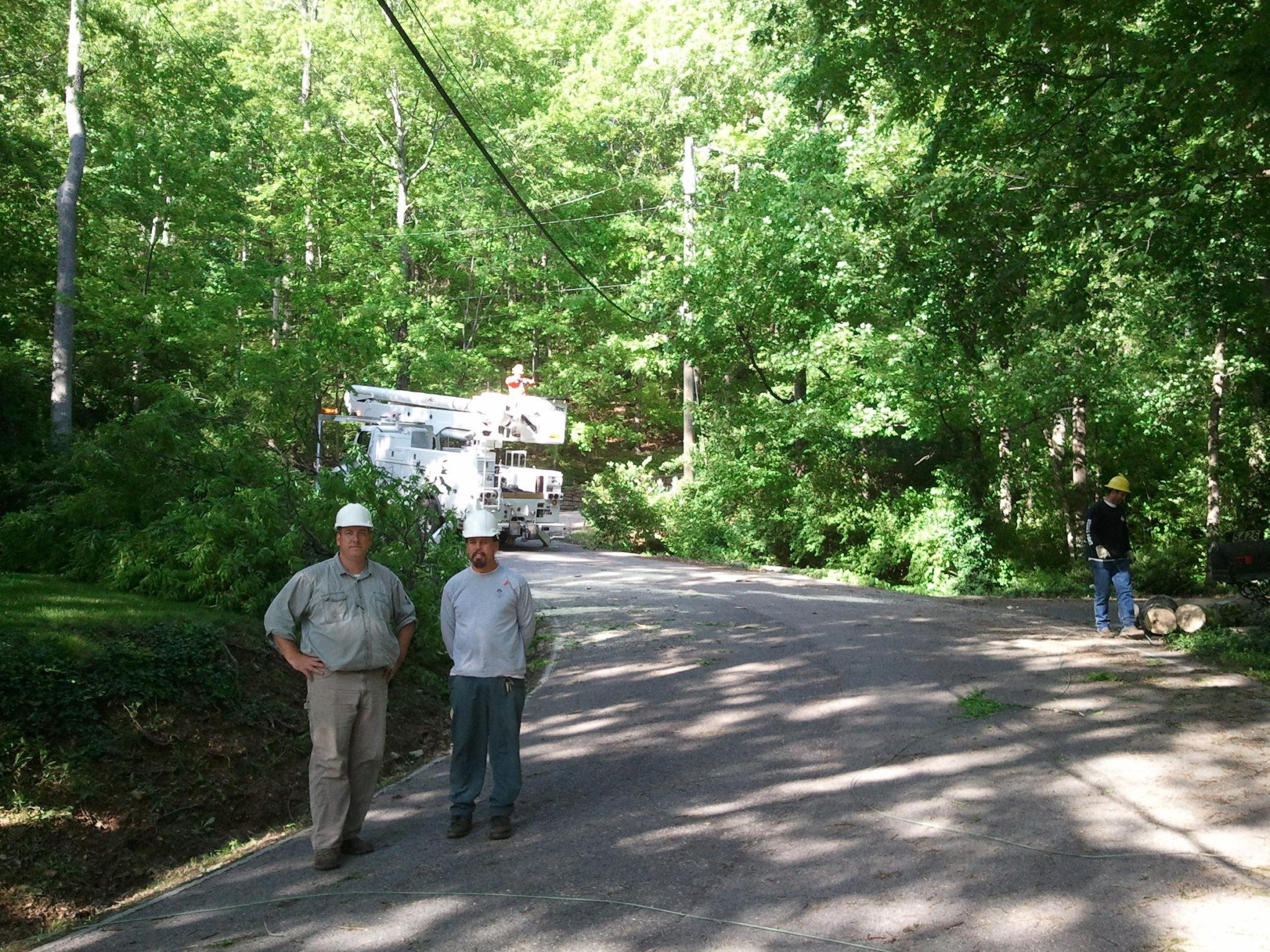 Dan Beasley of Tree Service of Nashville, TN