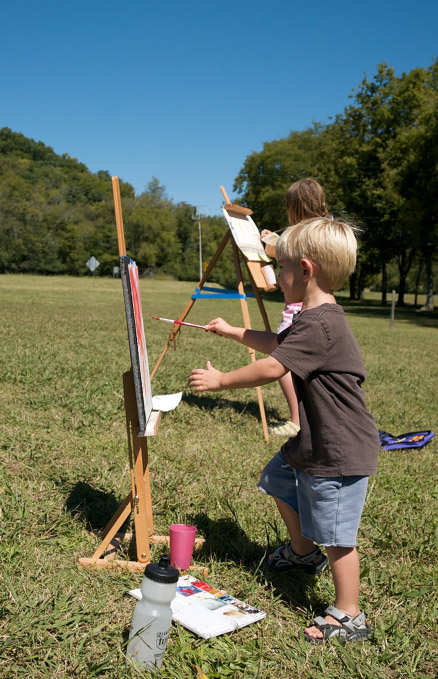 Parke-Company-tree-service-of-nashville-School-has-started-Take-your-science-or-history-classes-outside-painting-plein-air